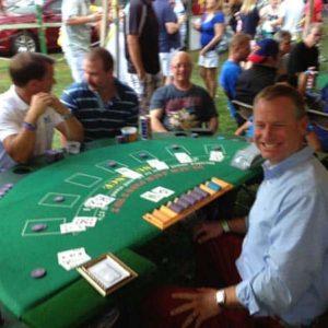 bill abel at black jack picnic 2014